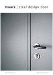 Maars steel design door